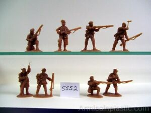 Armies in Plastic French & Indian War Gages 80th Regiment # 5552