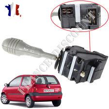 Commodo gris pour Renault Twingo = 7701046629 7701054305 éclairage + clignotant