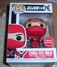 Funko POP! GI Joe Cobra Red Ninja (Game Stop Exclusive)
