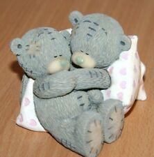 """Me to you Bears Figurines """"Sweet Dreams """" Made with Love 2006 Hearts VGC"""