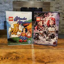 Lego 77906 Wonder Woman & 77905 Black Widow Taskmaster's Ambush Comic Con bundle