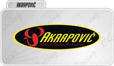 1 Adesivo Stickers Akrapovic resistenti al calore 20 cm