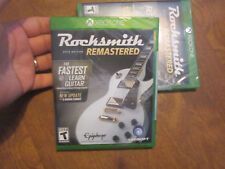 Rocksmith 2014 Edition Remastered XBOX ONE BRAND NEW FACTORY SEALED