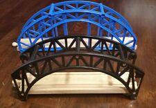 Thomas Wood Train Bridges Blue/Black Plastic Brio