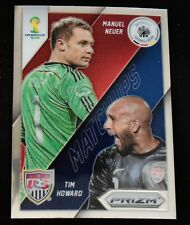 2014 Panini Prizm WC Matchups #16 Manuel Neuer / Tim Howard