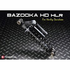 "Racingbros 12.5"" Remote Reservoir Shocks for 1991-2017 Harley Dyna except FXDF"