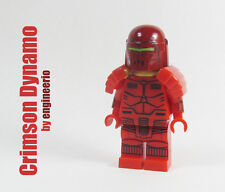 LEGO Custom - Crimson Dynamo - Marvel Super heroes mini figure X-men wolverine
