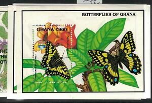 Ghana Butterfly SC 1451-2 MNH (2efq)