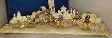 Nativity Bethlehem Manger Scene Lighted and Musical 05344