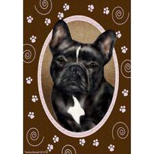 Paws Garden Flag - Pied French Bulldog 172351