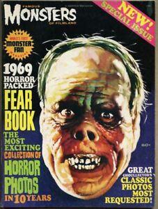 Famous Monsters Of Filmland Yearbook #7-1969 fn+ 6.5 aka Fearbook Warren