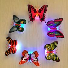 Romantic Colorful Changing Butterfly LED Night Light Lamp Home Decor Nightlights