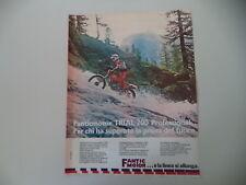 advertising Pubblicità 1980 MOTO FANTIC TRIAL 200 PROFESSIONAL
