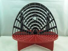 Grit Guard Bucket Insert Red with Washboard Bucket Insert Black Separate dirt
