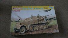 Dragon # 6542 Sd.Kfz.7/2 3.7Cm Flak 37 w/ Armor Cab 1/35 scale