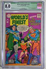 WORLD'S FINEST COMICS # 173 CGC 8.0 BATMAN DRESSED AS TWO FACE DC COMICS 2/68