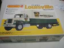 Amt / Matchbox un made plastic kit of a Ford LOUISVILLE, Boxed