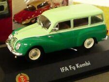 1/43 Atlas DDR Auto Kollektion IFA F9 Kombi hellgrün grün 7230 033