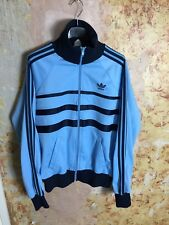Vintage Adidas Ventex Tracksuit Top Medium Mens Retro 1970s Made In England