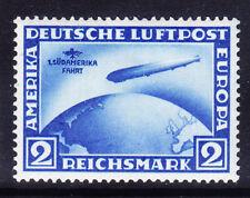 Alemania SG456 2 M Aire! ST S/American Vuelo Zeppelin horizontal wmk L/M/M GATO £ 475