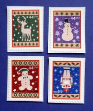 Sc # 4425-4428 ~ Booklet Singles ~ 44 cent Winter Holidays Issue (cd8)