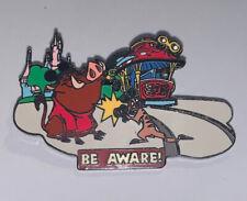 Disney Pin LionKing Timon Pumbaa Wild About Safety Be Aware Trolley Camera Photo