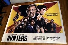 AMAZON PRIME TV HUNTERS AL PACINO JORDAN PEELE  5ft Subway Poster SEASON 1 2020