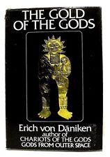 """THE GOLD OF THE GODS"" by ERICH VON DANIKEN (Hardcover, 1973) UFO/Speculation"