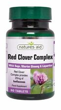 Natures Aid Red Clover Complex with Sage, Siberian Ginseng & Liquorice 60 Tabs