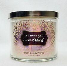 1 Bath & Body Works A THOUSAND WISHES Large 3-Wick Candle