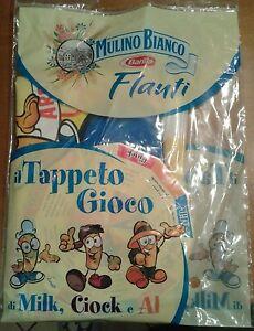 IL TAPPETO GIOCO mulino bianco BARILLA flauti Milk Ciock Al