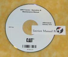 SEBU5229 CAT Caterpillar D9H Tractor Dozer Operation Maintenance Manual CD