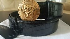 VERSACE Classic Medusa Leather Belt Size 100 and 105