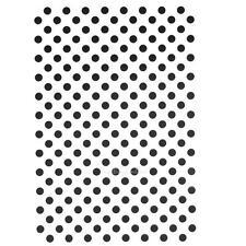 Polka Dots Plastic Embossing Folder Template DIY Scrapbook Papercraft Card Decor