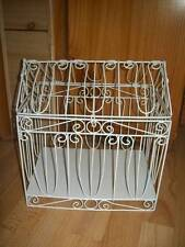 WEDDING ENGAGEMENT WIRE BIRD CAGE HOUSE CARD KEEPER WISHING WELL NEW