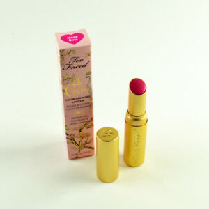 Too Faced La Creme Color Drenched Lipstick MEAN GIRLS - Full Size 3 g / 0.11 Oz.