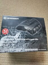 Bresser Night Vision 3x20 Binoculars In Box With Case Introductions