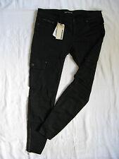 Drykorn Damen Jeans Röhre Denim Stretch Cargo W31/L30 x-low waist slim fit pipe