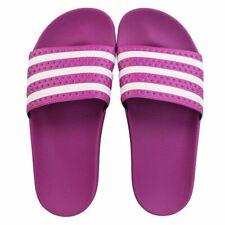 Para Mujer Adidas Originals Adilette Slip On Slider Sandalias En Rosa