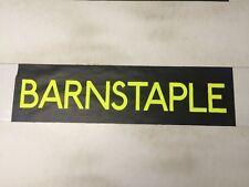 "Barnstable 1990's Bus Destination Blind 30""- Barnstable"