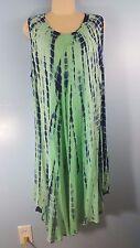 Kactus Tye Dye Tank Dress Large Beach Dress L Fast Shipping!! Nice!!