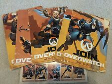 LIMITED EDITION BLIZZCON 2017 Overwatch Uprising Recruitment Posters Set of 5