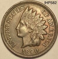 1890 Indian Head Penny Cent