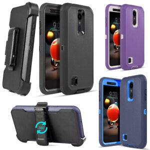 For LG Phoenix 4 / Aristo 2 Plus / Rebel 3 Case Belt Clip Fits Otterbox Defender