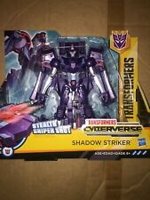 Transformers Shadow Striker New Cyberverse Ultra Action Figure New