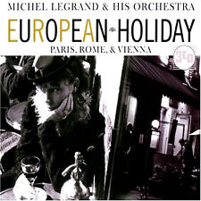 Michel Legrand  European Holiday Paris Rome and Vienna NEW 3CD BOX SET ORCHESTRA