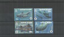 CAYMAN ISLANDS SG1037-1040 ENDANGERED SPECIES SHORT-FINNED PILOT WHALE  MNH