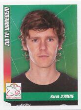 N°428 KAREL D'HAENE # BELGIQUE SV.ZULTE WAREGEM STICKER PANINI FOOTBALL 2011