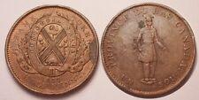 Canada, Province du Bas Canada, Sou (1/2 penny), 1837, TTB+ !!