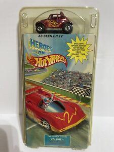 Heroes On Hot Wheels 1991 VHS Volume 1 1:64